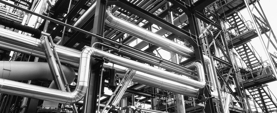 Reportage fotografico della realizzazione di un impianto di Hydrofinishing nello stabilimento Viscolube di Pieve Fissiraga (Lodi)