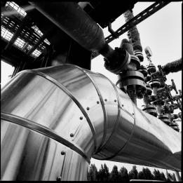 Foto descrittive delle varie sezioni dell'impianto Viscolube di Pieve Fissiraga. [Ph. Matteo Cirenei]