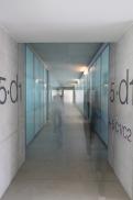 La parte degli uffici, nuova sede Università Bocconi di Grafton Architects [Ph. Matteo Cirenei]