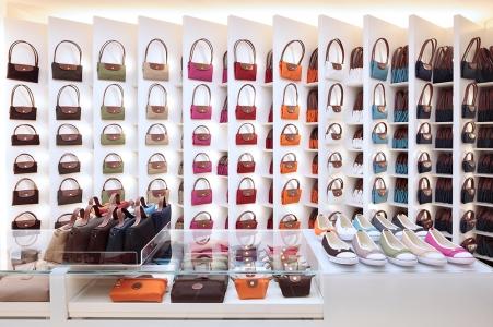 Longchamp Boutique in Milan [ Ph. Matteo Cirenei ]