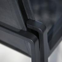 Dettaglio sedia impilabile ALURA mod. ALR47TAZU