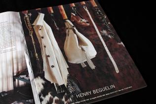"Sul magazine Usa ""Black Book"" , 2005, per HenryBeguelin [ Ph. Matteo Cirenei ]"
