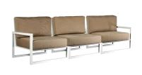 Composizione NINIX LOUNGE di tre elementi a formare un divano