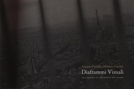 """Copertina del catalogo della mostra """"Diaframmi Visuali"""""""