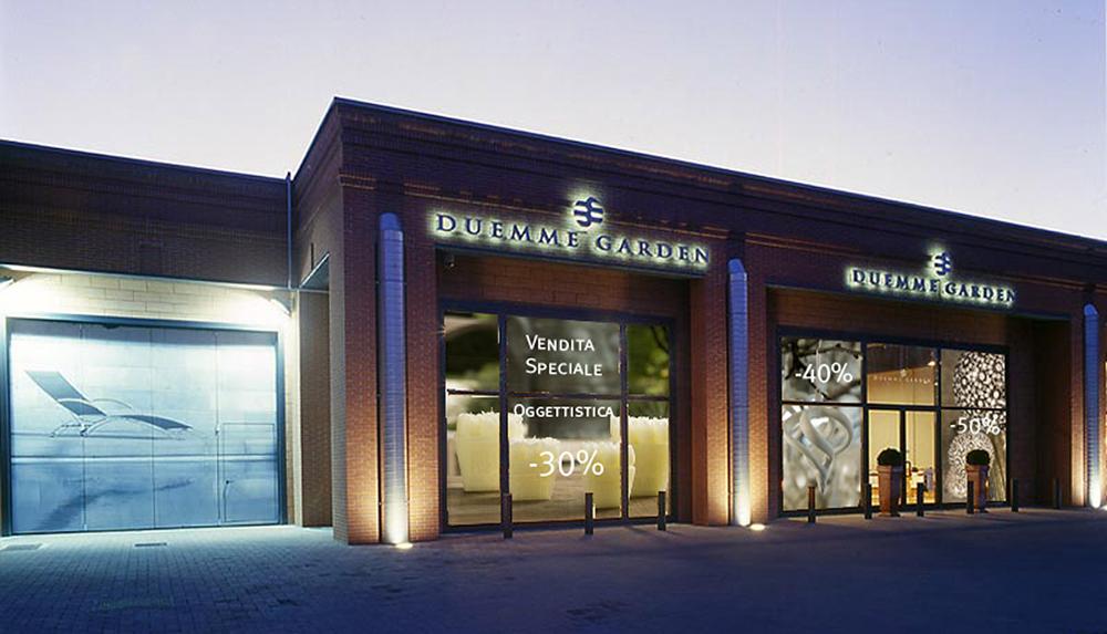 Corporate design per duemmegarden negozio di mobili da for Negozio di design di mobili