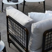 Lusit lounge, dettaglio cuscini