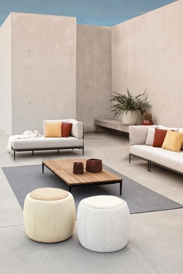 Divani Lusit Lounge, poufsTono