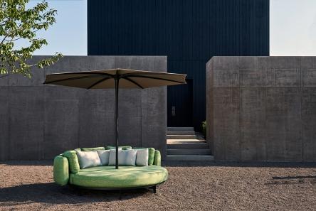 Organix Lounge e ombrellone Bloom